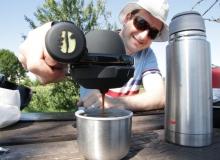 der jules kann endlich seine espressomaschine testen // epresso de luxe