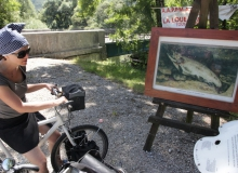 vallée de la loue, reproduktionen von courbet stehen dort wo er sie einst gemalt hat