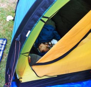 Camping pour Cléo